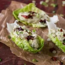 Slaschuitjes met avocado - chorizo salade   simoneskitchen.nl