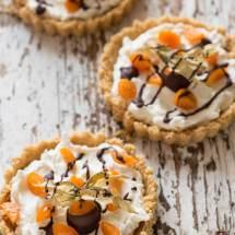 Snelle taartjes met physalis | simoneskitchen.nl