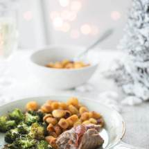 Saltimbocca met aardappeltjes en broccoli | simoneskitchen.nl