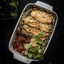 Vegetarische lasagna | simoneskitchen.nl