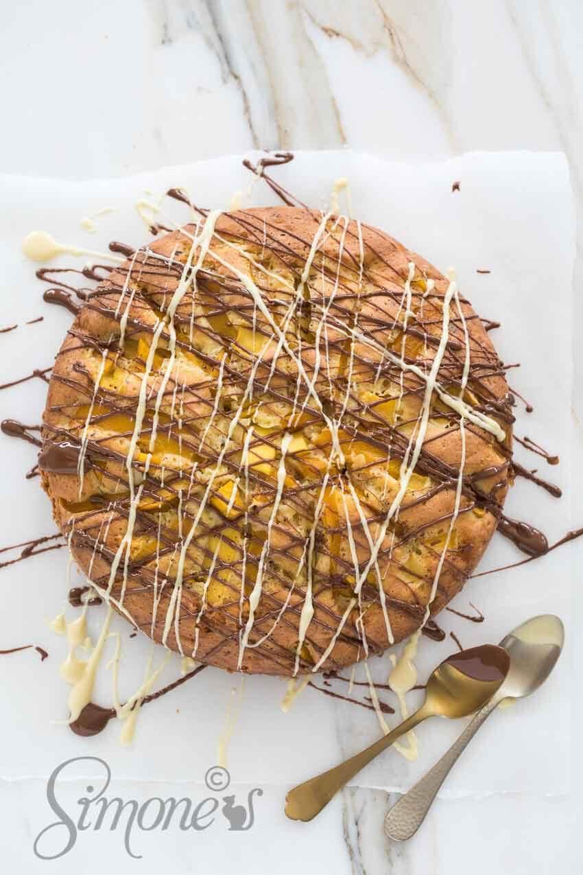 Mango chocoladetaart   simoneskitchen.nl