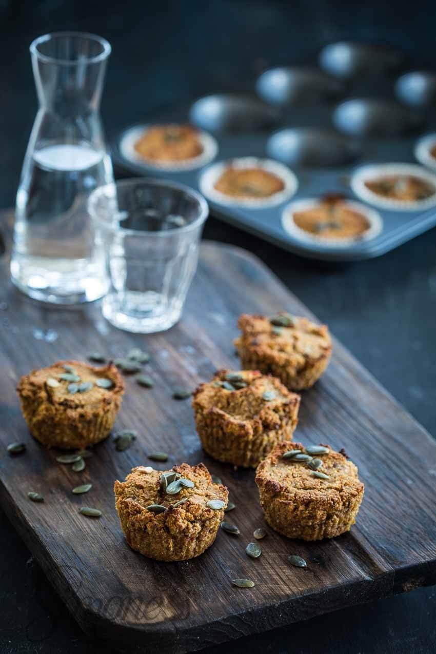 Vegan pompoenmuffins | simoneskitchen.nl