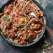 PLantaardige spaghetti bolognese | simoneskitchen.nl