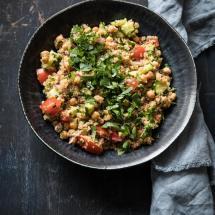 Snelle quinoasalade met kikkererwten | simoneskitchen.nl