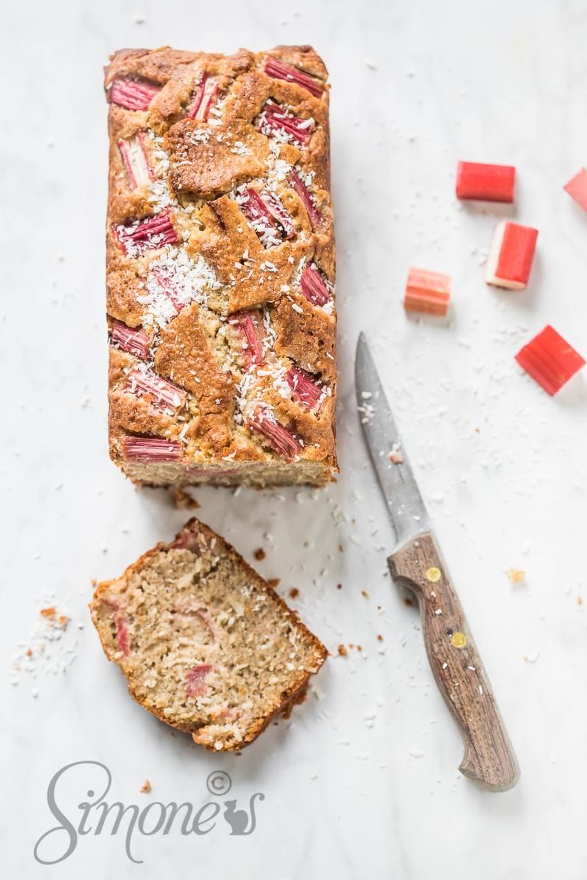 Glutenvrije rabarbercake   simoneskitchen.nl