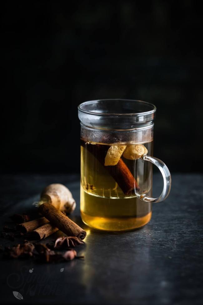 Lekker verwarmende specerijen thee