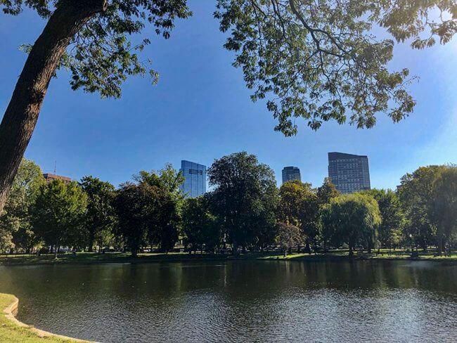 Een week vakantie in Boston