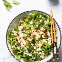 Thaise salade met kip
