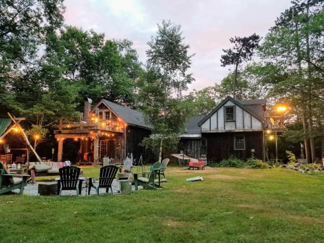 Op vakantie in eigen achtertuin