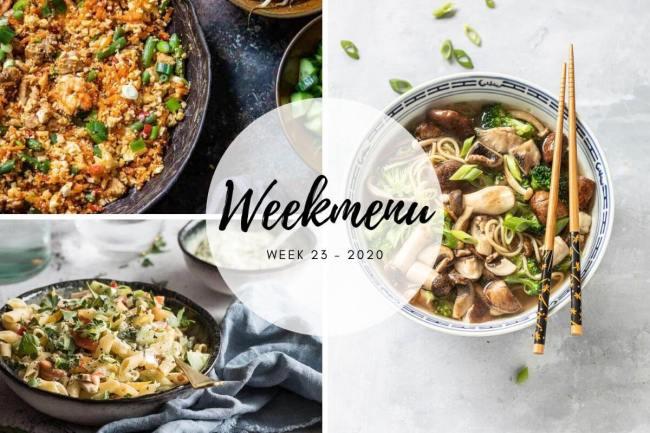 weekmenu week 23