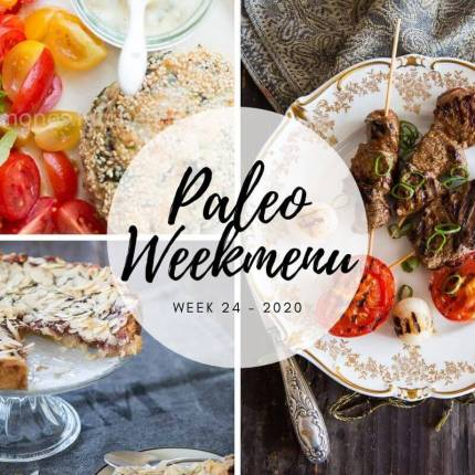 Paleo weekmenu week 24