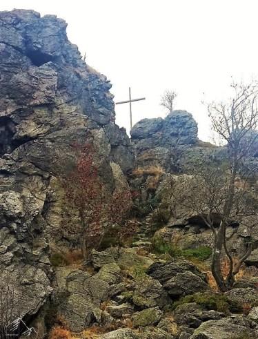 Gipfel des Feldstein (756m