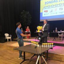 Prijsuitreiking Brabantsedag van Lego