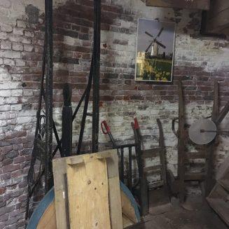 Binnen in de molen Geldrop