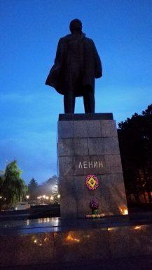 Die obligatorische Lenin-Statue in Pjatigorsk