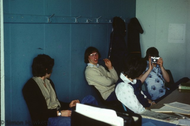 35mm colour slides from Kings Lynn College  circa 1976 - Jeff Hebden
