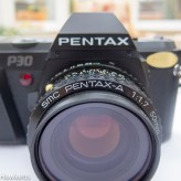 pentax p30 front view