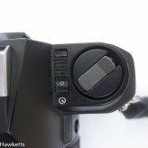 pentax p30 - Rewind and on/off switch
