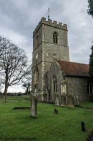 Pictures of St Giles Church in Codicote - the clock tower