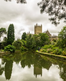 A Picture of Wells cathedral 6