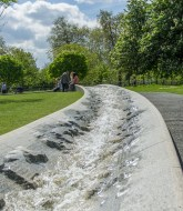 The princess Diana memorial fountain 5