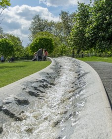 The princess Diana memorial fountain 2
