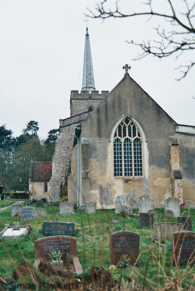 Yashica 230 AF sample picture - Cottered church