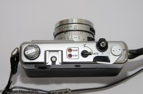 Yashica MG-1 - Camera Top-plate