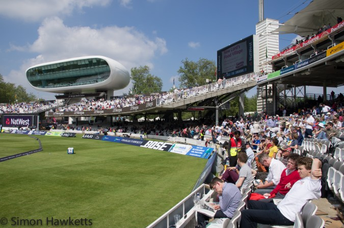 Lords cricket ground - Where we will sit next visit