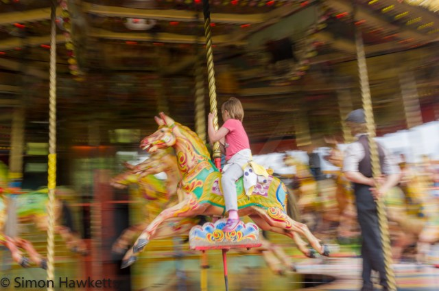 Capturing motion in a photograph 1
