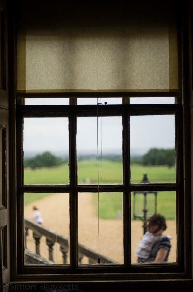 Wimpole Hall in Cambridgeshire pictures - Through the window