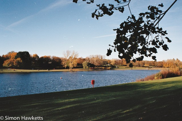 Minolta 7000 35mm slr sample picture - Fairlands sailing lake