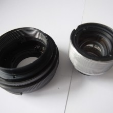 Pentacon 50mm strip down and clean - Helicoid removed from lens