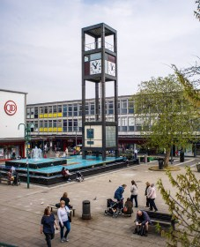 Camdiox focal reducer sample pictures - Stevenage town centre