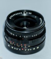 Pentacon 30mm f/3.5 Pre-set lens