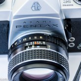 Pentax spotmatic sp1000 with 55mm f/2.0 lens