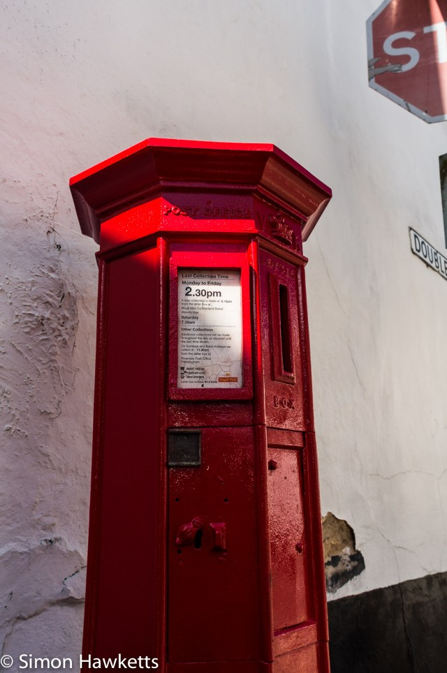 Pictures of Framlingham in Suffolk - A Victorian postbox in the town