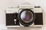 Praktica PLC 3 35mm slr camera - Front view