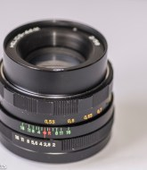 Helios 44M focus thread cleanup -  lens