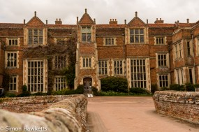 Kentwell Hall Tudor day pictures - Kentwell Hall main entrance