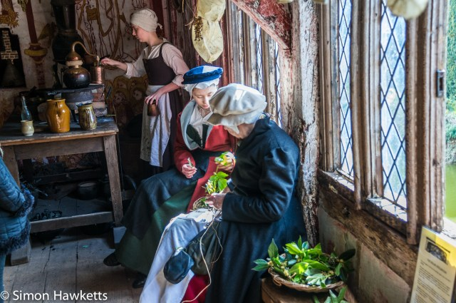 Kentwell Hall Tudor day pictures - The apothacary's room