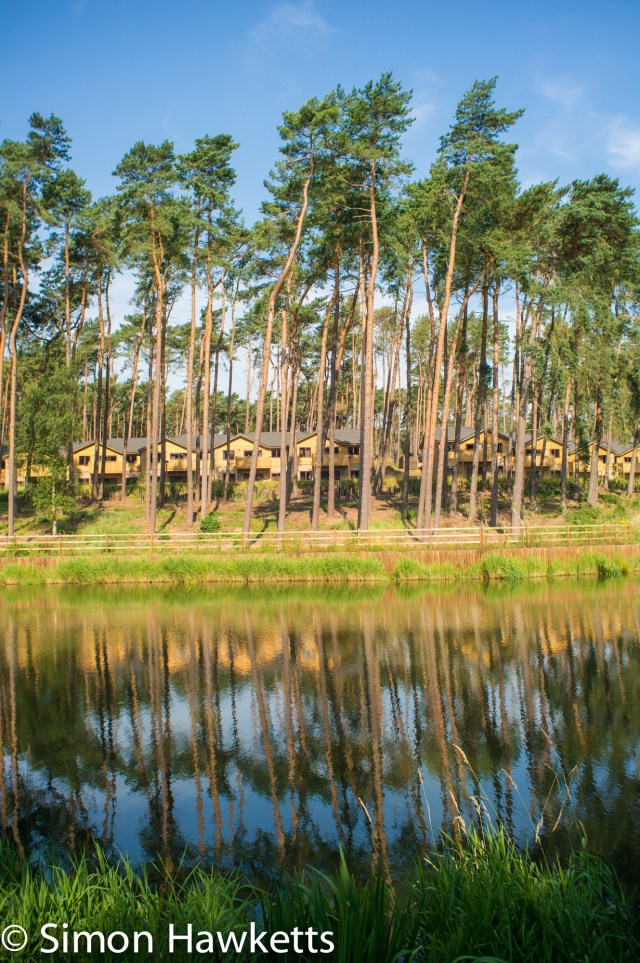 Pictures from Woburn Forest CenterParcs - Boating lake and trees
