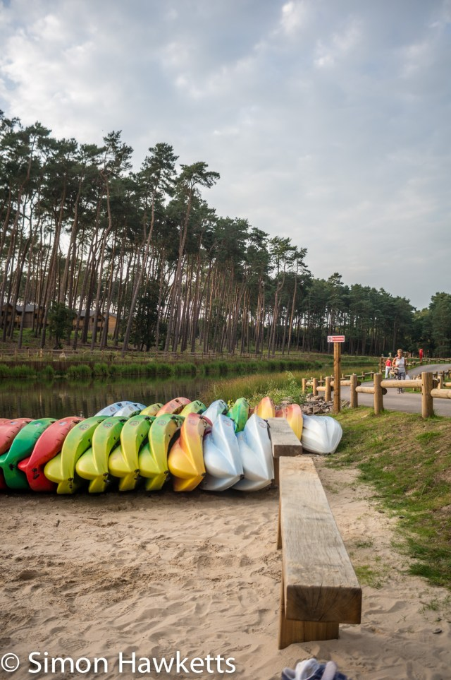 Pictures from Woburn Forest CenterParcs - Boats