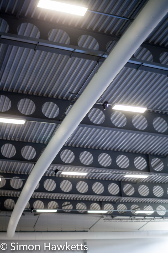 Pictures from Woburn Forest CenterParcs - Sports hall roof
