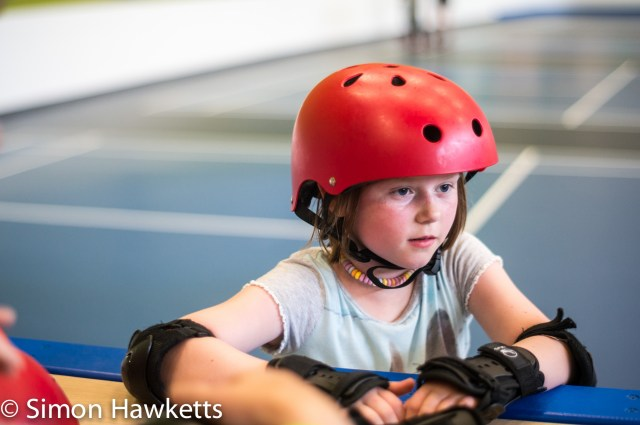 Pictures from Woburn Forest CenterParcs - Starting rollerskating