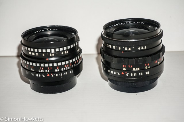 Meyer-optik Lydith with Pentacon 30mm