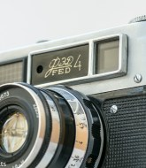 Fed 4 35mm rangefinder film camera