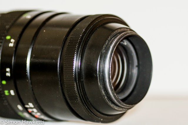 Pentacon 200mm f/4.0 M42 mount without auto/manual switch or auto diaphragm pin