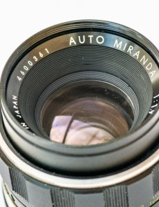Auto Miranda 50mm f/1.9 strip down and repair - lens before any work started