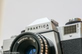 Praktica LB fitted with domiplan lens
